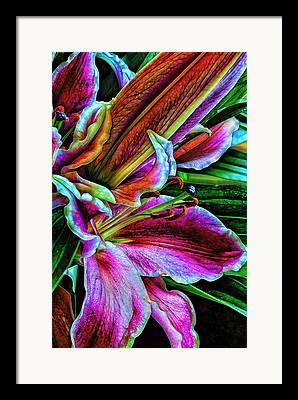 Heavenly Scent Framed Prints