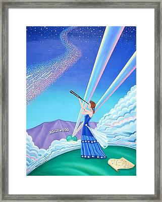 Stargazer Framed Print by Tracy Dennison