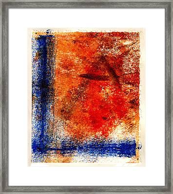 Stark Streak Framed Print by Kimanthi Toure