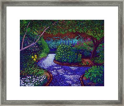 Southern Garden Framed Print by Jeanette Jarmon