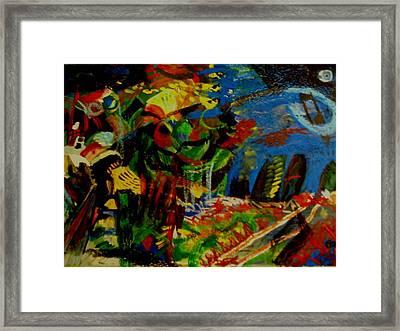 Starry Night Framed Print by Carlos Roberto