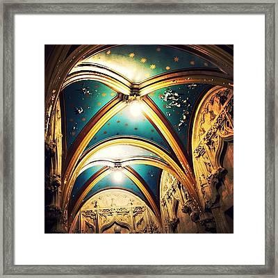 Starry Night Ceiling Framed Print