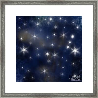 Starry Night Framed Print by Clayton Bruster