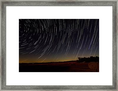 Starry Night Framed Print by Dan Wells