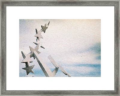 Stars By Day Sandstorm Framed Print by Ritter Photography And Fine Art Images