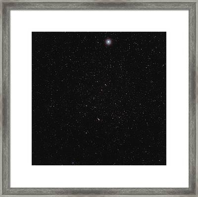 Stars Framed Print by Eckhard Slawik