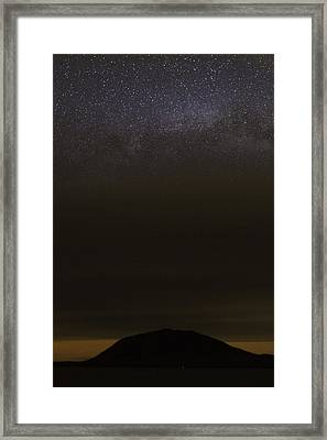 Framed Print featuring the photograph Stars Over Little Spencer by Brent L Ander