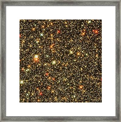 Stars Towards The Galaxy Centre Framed Print by Nasaesastscihubble Heritage Team