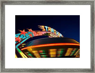 Starship 4000. Framed Print by Giancarlo Sherman