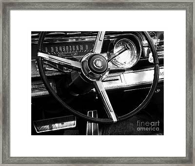 Starship Cadillac Framed Print