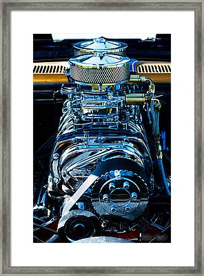 Start Your Engines Framed Print by Melissa Wyatt