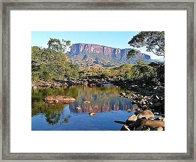 Starting Up Roraima Framed Print