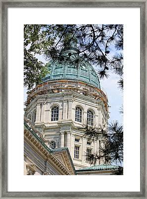 State Capitol Framed Print by Billie-Jo Miller
