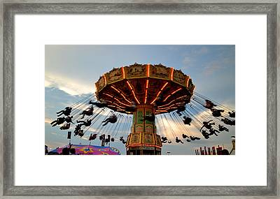 State Fair Framed Print