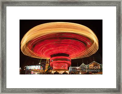 State Fair Vii Framed Print by Clarence Holmes
