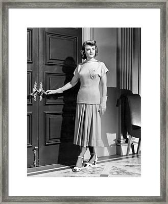 State Of The Union, Angela Lansbury Framed Print by Everett