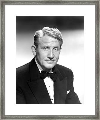 State Of The Union, Spencer Tracy, 1948 Framed Print