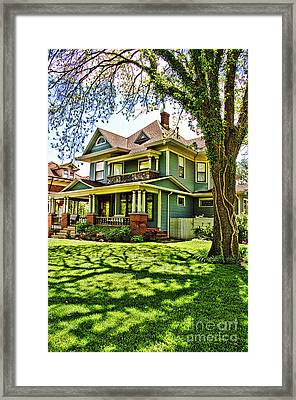 Stately Framed Print by Gib Martinez