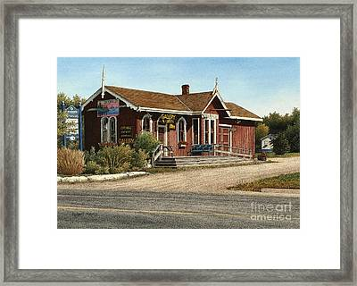 Station Gallery Fenelon Falls Framed Print