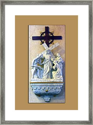 Station Of The Cross 08 Framed Print by Thomas Woolworth