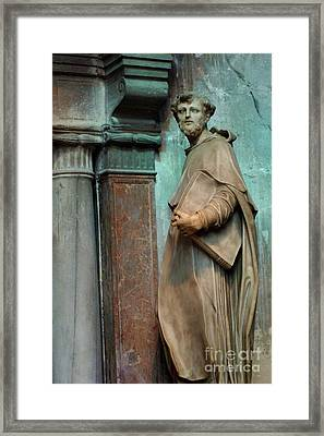 Statue In Italy Framed Print