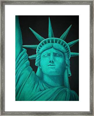 Statue Of Liberty ... Framed Print