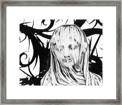 Statue Framed Print by Simon Marsden