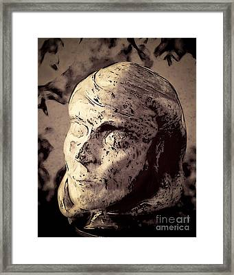 Statuesque  Framed Print by Arne Hansen
