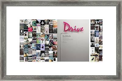 Stay Driven Framed Print