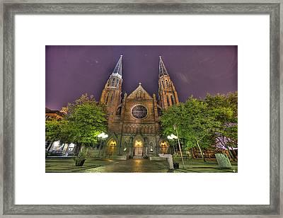 Ste. Anne De Detroit Framed Print by Nicholas  Grunas