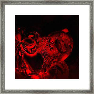 Steal Your Face Framed Print by Christian Allen