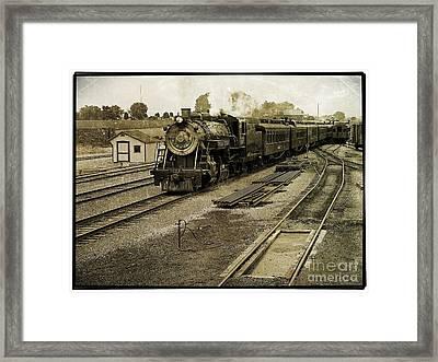 Steam Engine 90 Framed Print