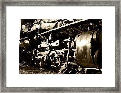 Steam Power II Framed Print by Ricky Barnard