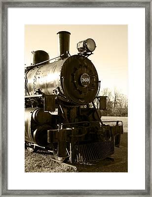 Steam Power Framed Print by Ricky Barnard