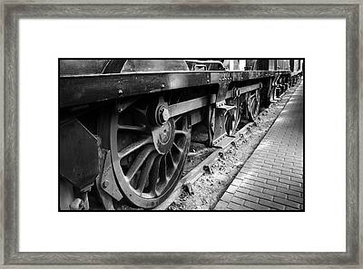 Steam Preserved Framed Print by Jacqui Collett