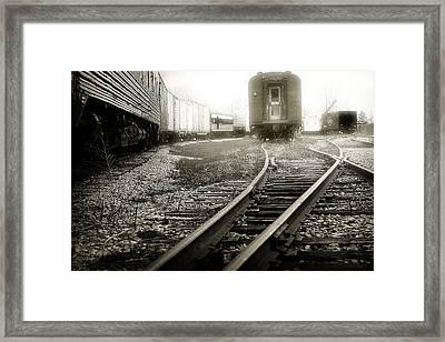 Steam Railroading 3 Framed Print by Scott Hovind