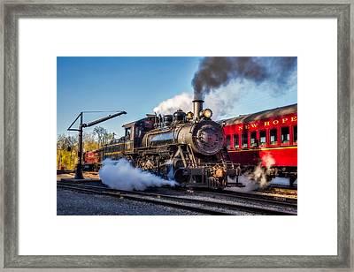 Steam Train No. 40 Framed Print by Susan Candelario