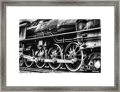 Steam Train No 844 - IIi Framed Print by Donna Greene