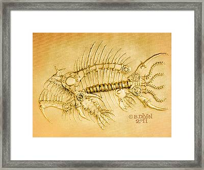 Steamfish 1 Framed Print by Baron Dixon