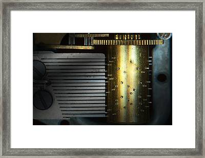 Steampunk - Gears - Music Machine Framed Print by Mike Savad