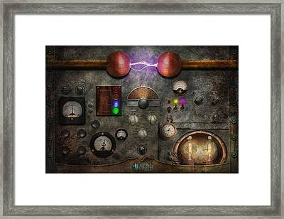Steampunk - The Modulator Framed Print by Mike Savad