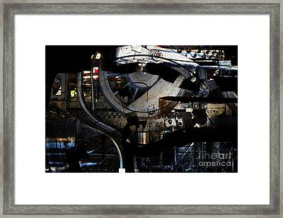 Steampunk Patent 1215 Prototype A Framed Print