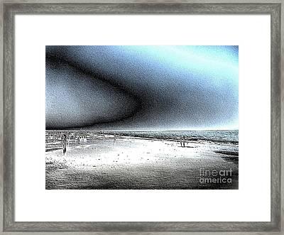 Steel Beach Framed Print by Dana Patterson