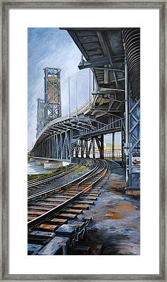Steel Bridge 2012 Framed Print