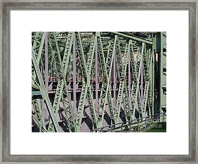 Steel Construction Framed Print