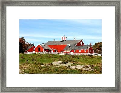 Steele Hill Farm Framed Print