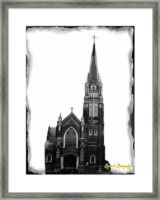 Framed Print featuring the photograph Steeple Chase 1 by Sadie Reneau
