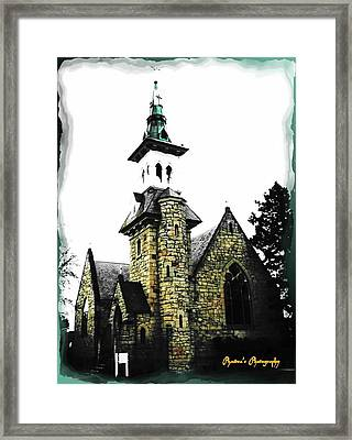 Framed Print featuring the photograph Steeple Chase 2 by Sadie Reneau