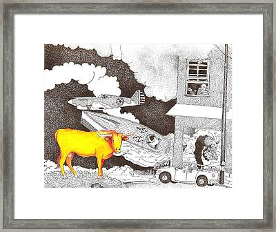 Steering Framed Print by Rob M Harper