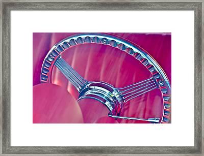 Steering Wheel Classic Framed Print by Carolyn Marshall